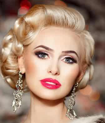 Fashion woman jewelry model