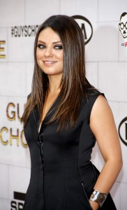 Mila Kunis with Long Hair